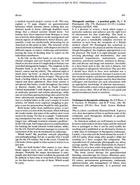 Therapeutic Nutrition A Practical Guide