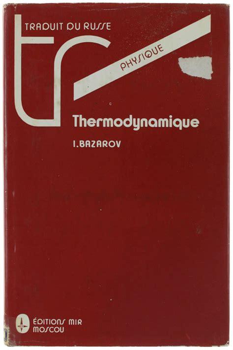 Thermodynamique - traduit du russe par V. Kolimeev