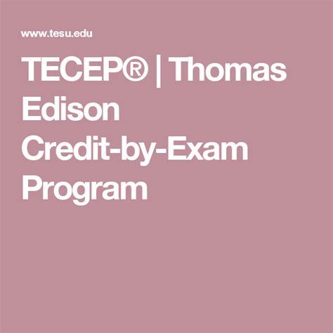 Thomas Edison Tecep Study Guide