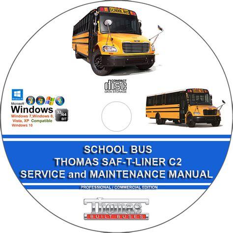 Thomas Saf T Liner C2 School Bus Service Repair Workshop Manual