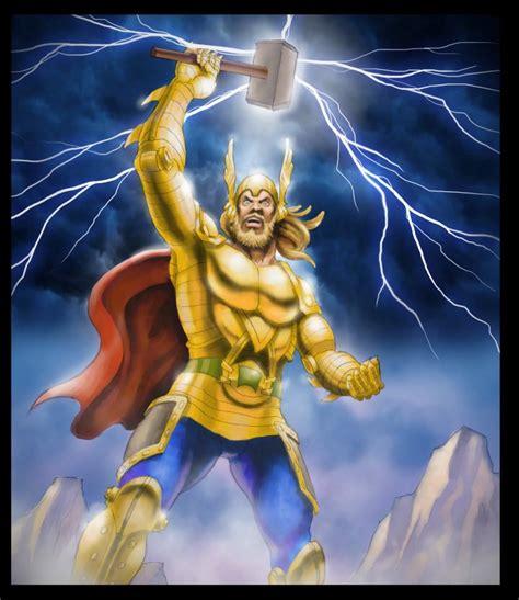 Thor El Poderoso Dios Del Martillo