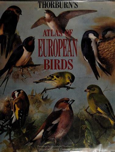 Thorburn S Atlas Of European Birds