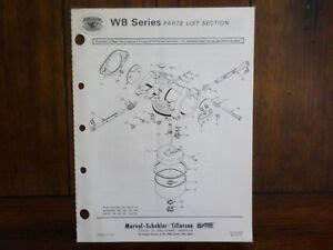 Tillotson Carburetor Manual Wb