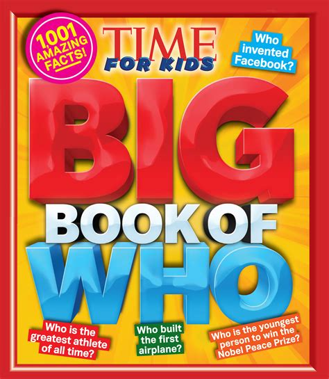 Time For Kids Big Book Of Where Time For Kids Big Books