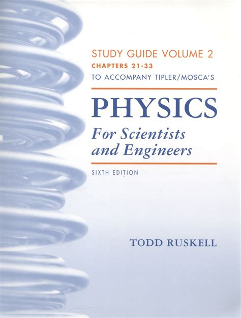 Tipler And Mosca Study Guide 6th Edition