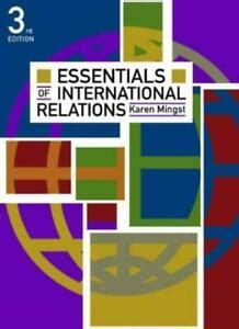 Title Essentials Of International Relations Third Edition