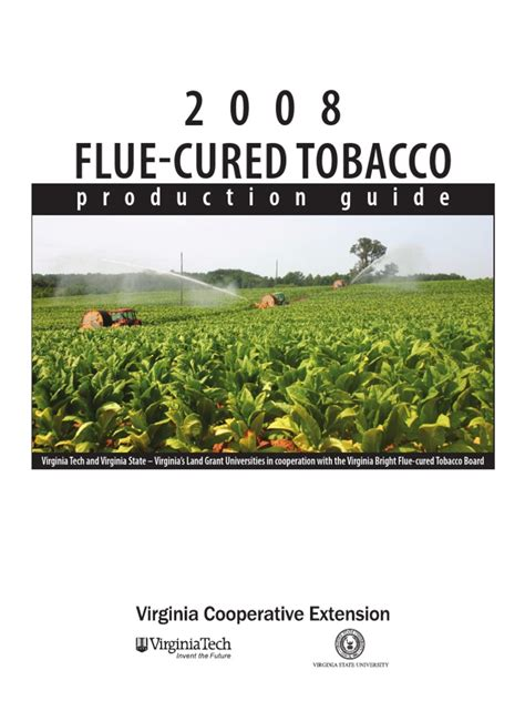 Tobacco Production Guide