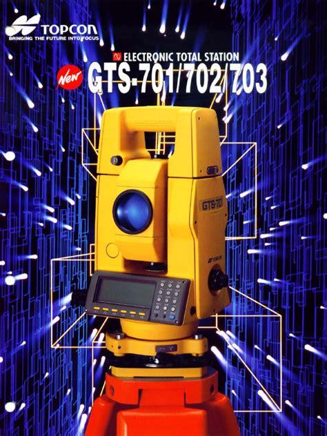 Topcon Gts 702 Manual