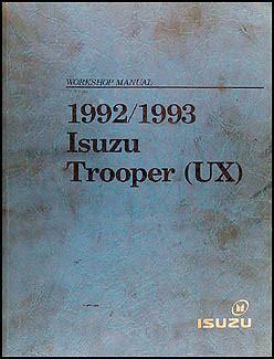 Torrent 93 Isuzu Trooper Repair Manual