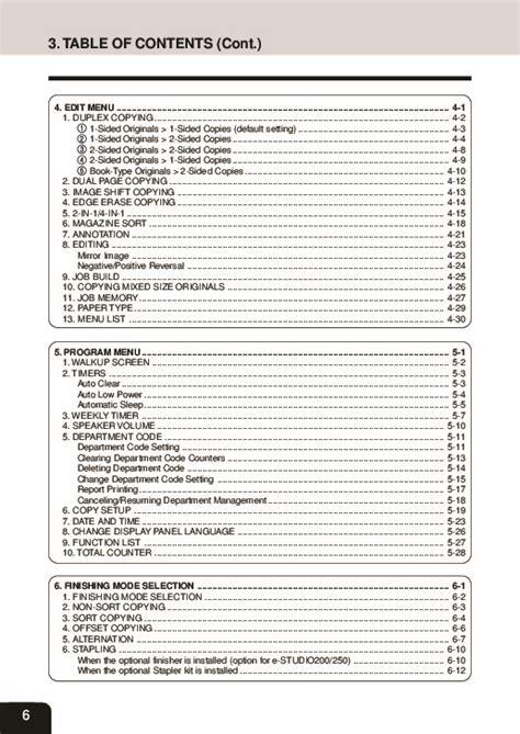 Toshiba Estudio 160 Service Manual