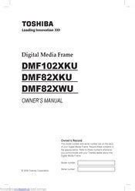 Toshiba Framechannel Manual