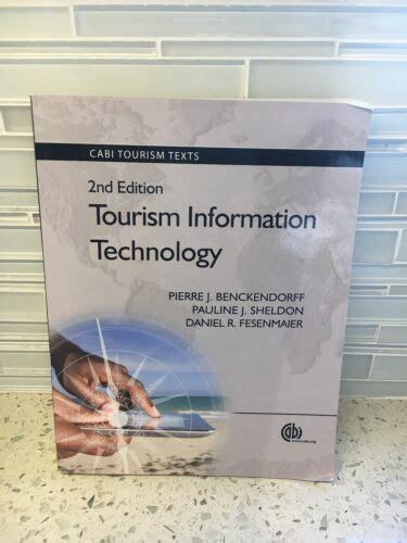 Tourism Information Technology Cabi Tourism Texts