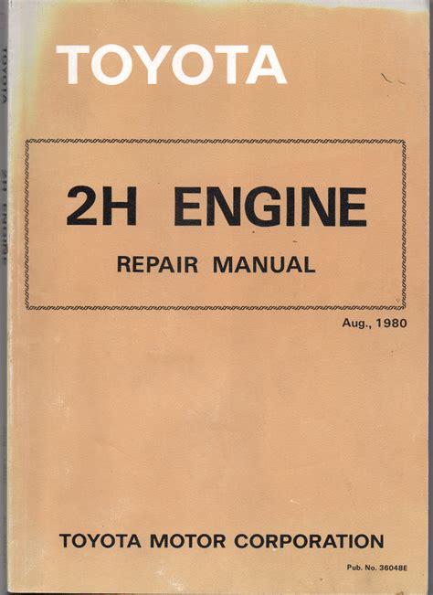 Toyota 2h Manual