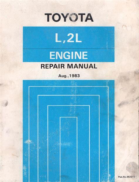 Toyota 2l Engine Repair Manual