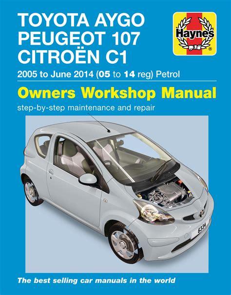 Toyota Aygo Haynes Manual