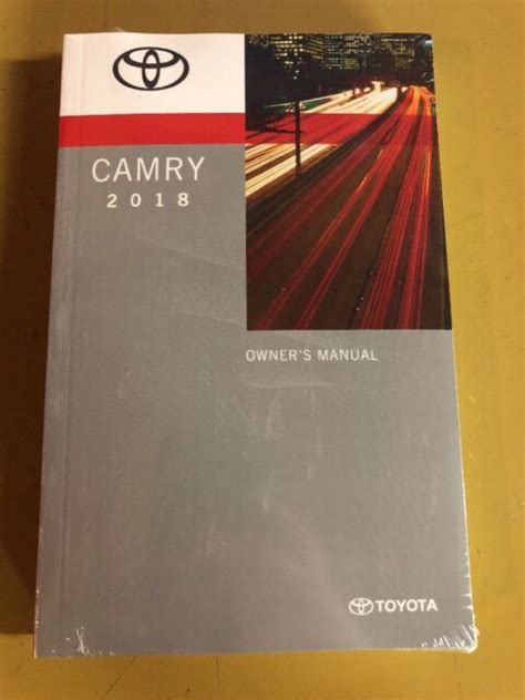 Toyota Camry Factory Service Manual Camry 2018