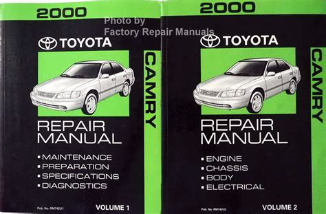 Toyota Camry Factory Service Manual Mirrors