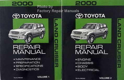 Toyota Land Cruiser Factory Owners Manual