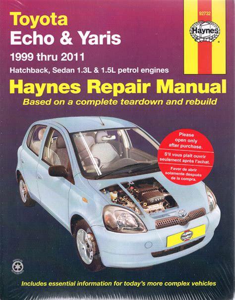 Toyota Yaris 3 Repair Manual
