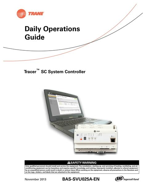 Tracer Sc Manual