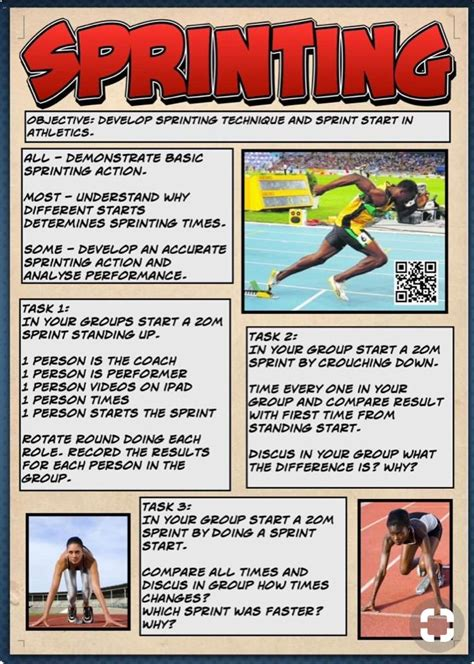 Track And Field Physical Education Activities Series