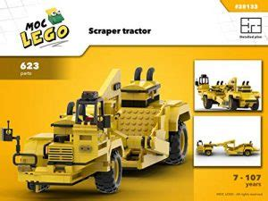 Tractor Demolition Instruction Only Moc Lgo English Edition