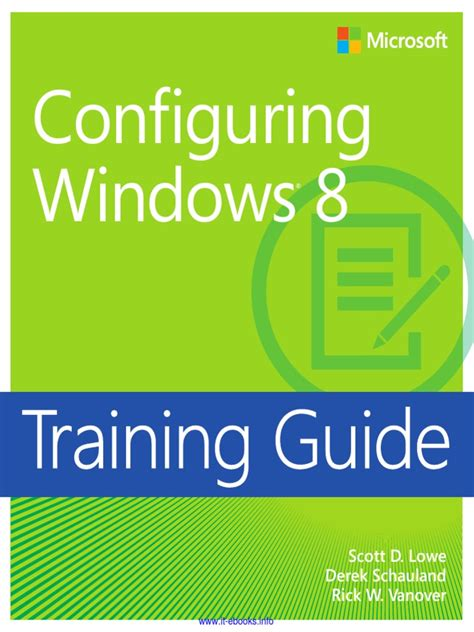 Training Guide Windows 8