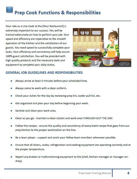 Training Manual For Bakery Cafe