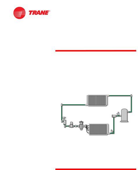 Trane Rthc Service Manual