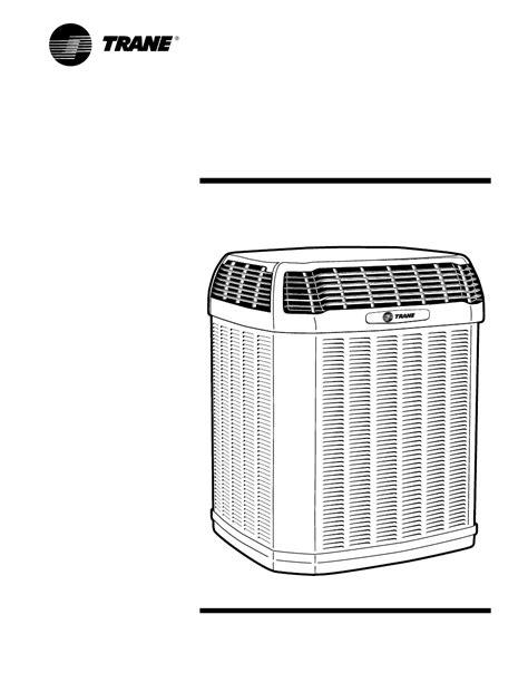 Trane Tuc 60 Install Manual