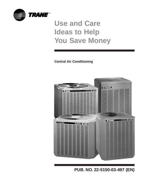 Trane Xr12 Residential Manual