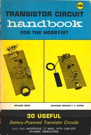 Transistor Circuit Handbook For The Hobbyist 30 Useful - PDF - edu