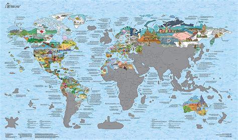 Travelmap Scratch Edition Die Highlights Des Planeten