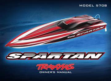 Traxxas Spartan Owners Manual