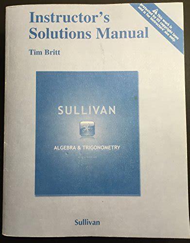 Trigonometry 9th Edition Lial Solution Manual