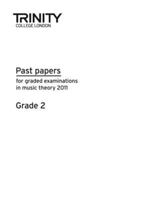 Trinity College London Theory Of Music Past Paper 2015 Grade 2