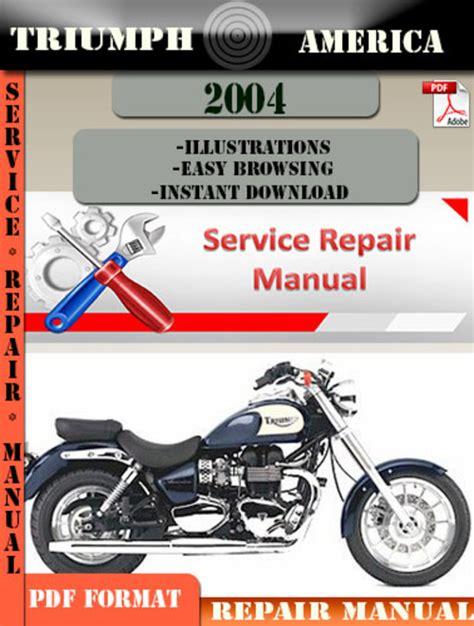 Triumph America Repair Manual
