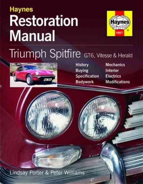 Triumph Gt6 Haynes Manual
