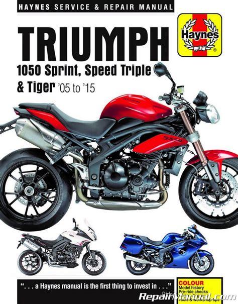 Triumph Service Manual Sprint 2015