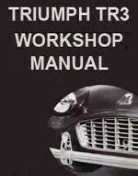 Triumph Tr3 Repair Manual