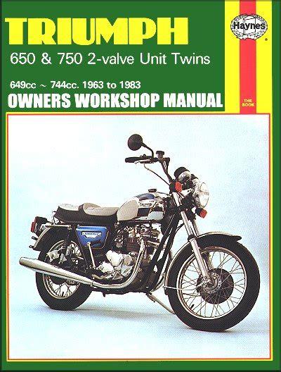 Triumph Tr6 Trophy 1963 1970 Full Service Repair Manual