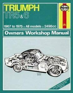 Triumph Tr6 Workshop Repair Manual