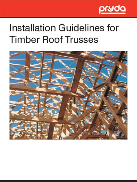 Truss Installation Guide