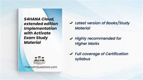 Trustworthy E_S4CEX_2021 Practice
