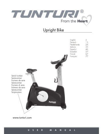 Tunturi User Manual