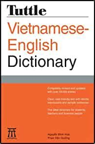 Tuttle Vietnamese English Dictionary Revised And Updated