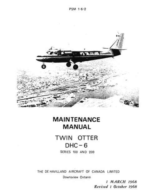 Twin Otter Technical Manual