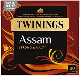 Twinings Assam Strong And Mighty 250g Case Of 4