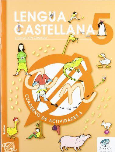 Txanela 5 Lengua Castellana 5 Cuaderno De Actividades 6 9788497834834