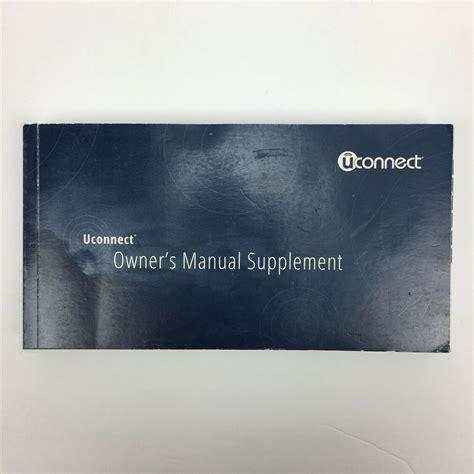 Uconnect Owner Manual